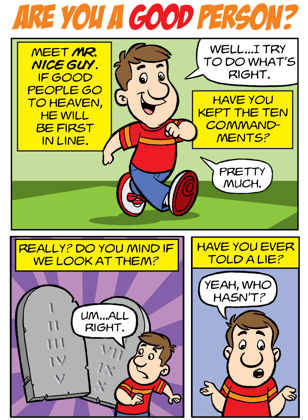 Are You A Good Person? (English version) - Free Cartoon